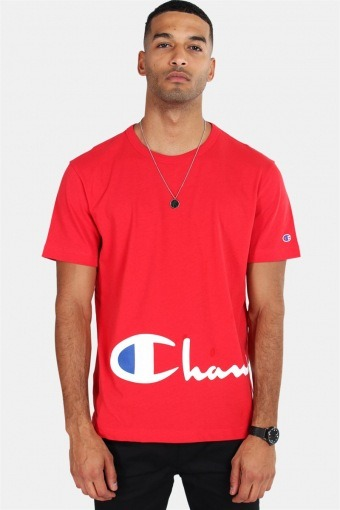 Crewneck T-shirt Red