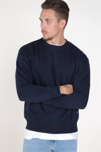Soft Sweatshirts Crew Neck Navy Blazer