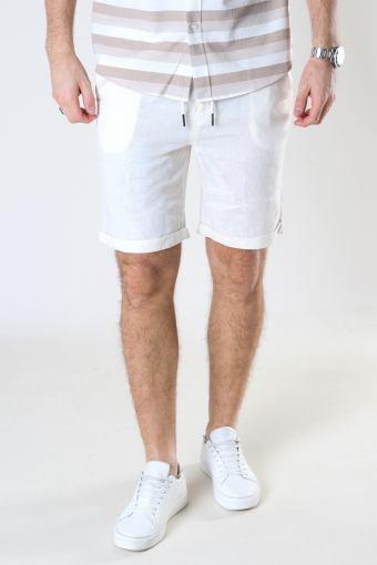SDTruc Shorts Linen Off White