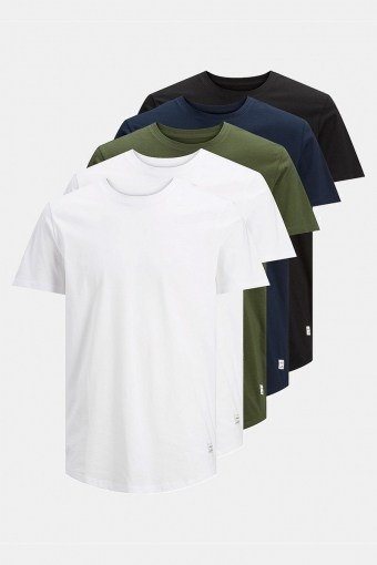 Enoa 5-Pack T-shirt White/2White