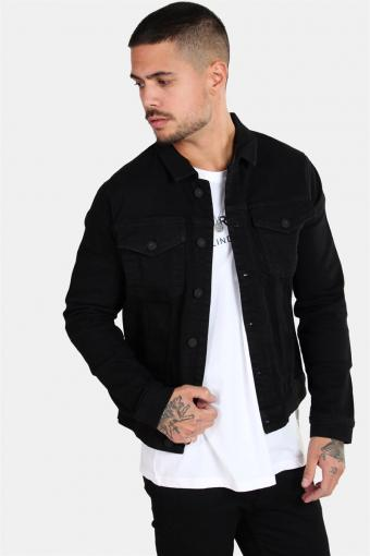 Chris Camp Slim Denim Jacke Black
