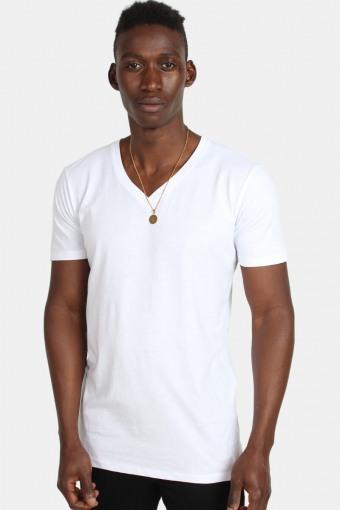 Uhrban Classics TB1559 Basic V-Neck T-shirt White