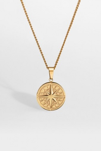 "Compass Halskette 2.0 ""Gold"""