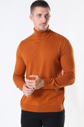 Berg Turtleneck Strik Pumpkin Spice