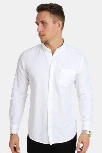 Alvaro LS Hemd White