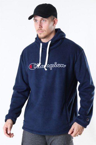 Fleece Hoodie Navy
