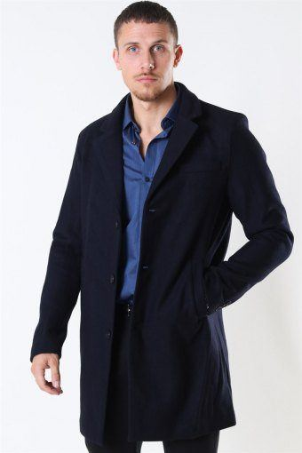 Tailored & Originals Sonny Plain Jacke Insignia Blue