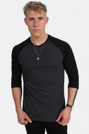 Uhrban Classics Tb366 T-shirt Charcoal/Black