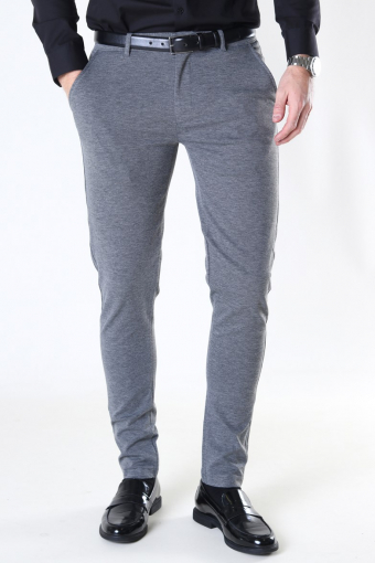 Dave Barro Pants Dark Grey Mel