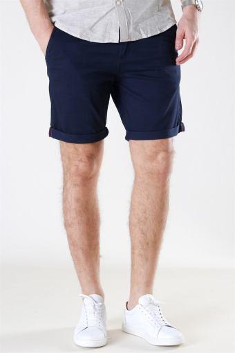 Bowie Shorts Solid Navy Blazer