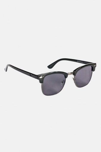 Fashion Clubmaster 2523 Solbriller Sort/Silver