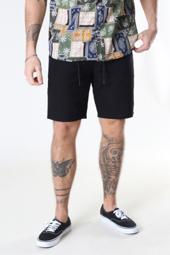 ONSLEO SHORTS LINEN MIX GW 9201 NOOS Black