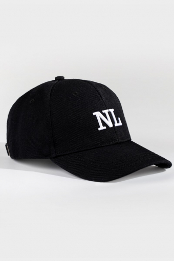 Dad Cap Black/white