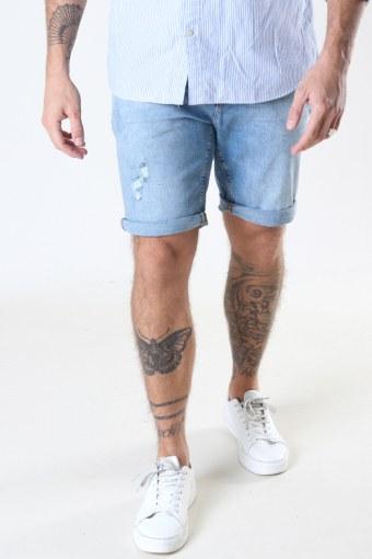 Chris Stretch Shorts 3002 3002 Light Blue Denim