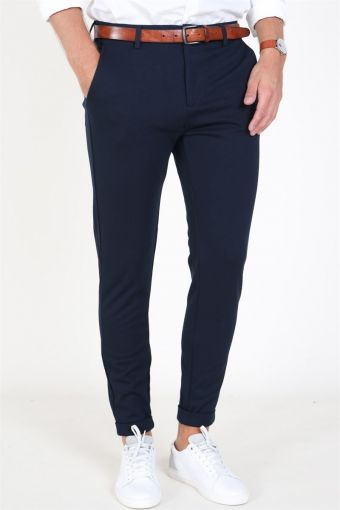 Clean Cut Prato Jersey Pants Navy