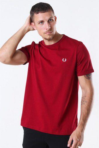 Ringer T-Shirt Rosso