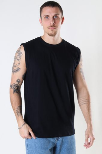 DP No Sleeve Tee 001 Black