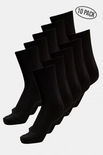 Andrew 10-Pack Strümpfe Black