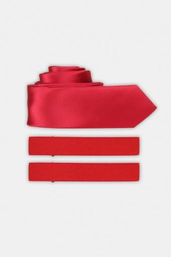 Krawatte & Armband Red