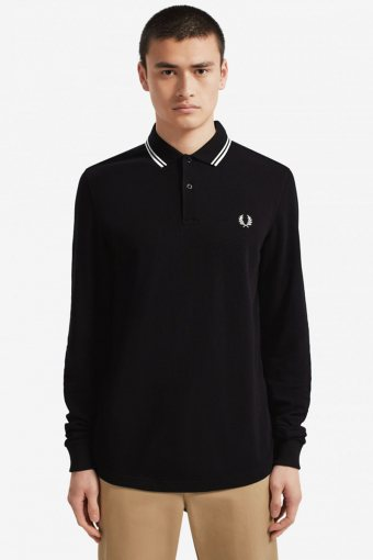 LS TWIN TIPPED Hemd 102 Black