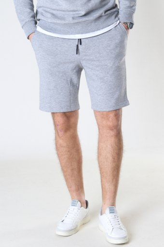 Onsceres Life Sweat Shorts Light Grey Melange