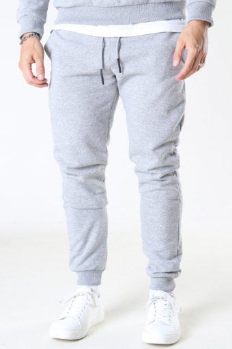 Ceres Life Sweat Pants Light Grey Melange