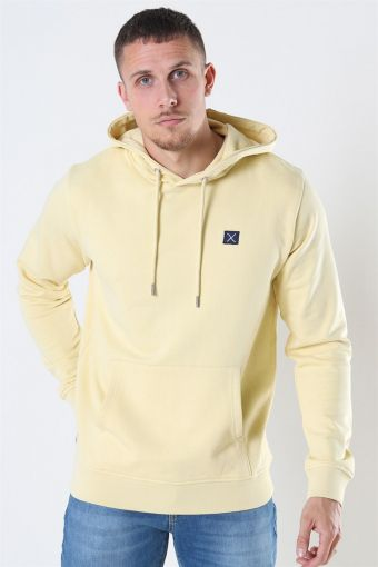 Clean Cut Basic Organic Hoodie Pastel Yellow