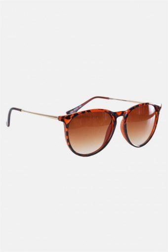 Fashion 1394 Sonnenbrille Brown Havana Gold Brown Gradient Lens